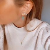 El turquesa también es un color de invierno y favorece muchísimo a la cara con jerséis de cuello vuelto en colores blanco/beige/camel e incluso con negro. Monísimo para darle color a nuestro look y luz a la cara #bevarac