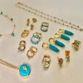 Nuestra colección turquesa, ¡Perfecta para las tardes de verano! #bevarac